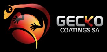 Gecko Coatings SA logo met shade